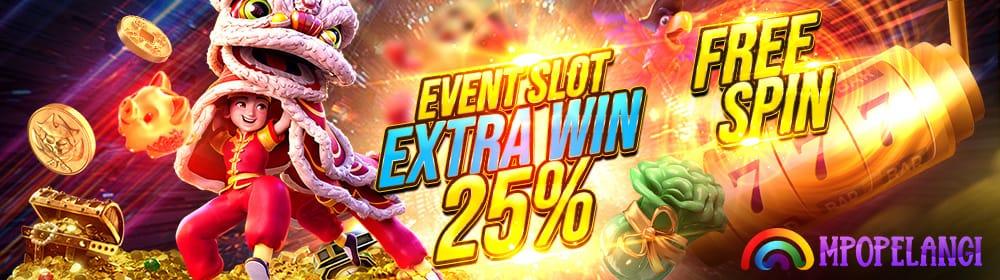 EXTRA BONUS FREESPIN 25%